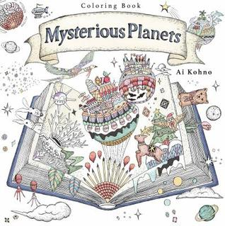 Mysterious Planets: A Coloring Book